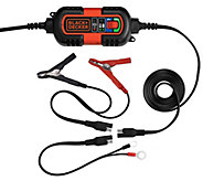 Black & Decker Vehicle Battery Maintainer and Trickle Charger - H284512