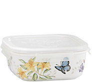 Lenox Butterfly Meadow Square Serve and Store Container - H291612