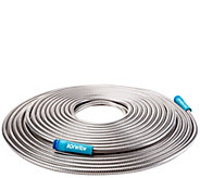 Sun Joe Heavy-Duty 100 Stainless Steel Metal Garden Hose - H300812