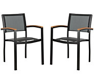 Kaelan Stackable Chair by Safavieh - H371612