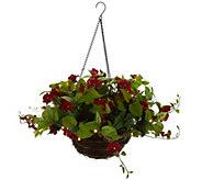 As Is Bethlehem Lights Indoor/ Outdoor Hanging Basket - H216713