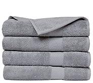 Elegance Spa Oversized Cotton Set of 4 Oversized Bath Sheets - H302613