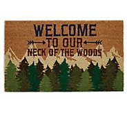 Design Imports Welcome To Our Neck Of The WoodsDoormat - H373313
