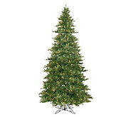 12 Prelit Slim Mixed Country Pine Tree byVickerman - H143014