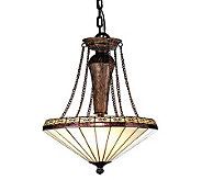 Tiffany Style 18W Crestwood Inverted Pendant Light - H181314