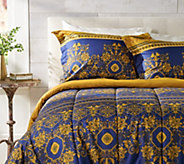 Celtic European Design Queen Comforter Set with Two Shams - H212614