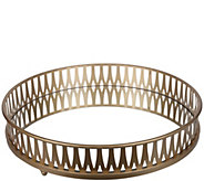 18 Urban Vogue Round Gold Tray by Valerie - H298014