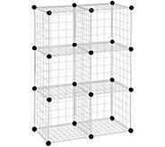 Honey-Can-Do 6-Pack Steel Wire Modular StorageCubes - H356414