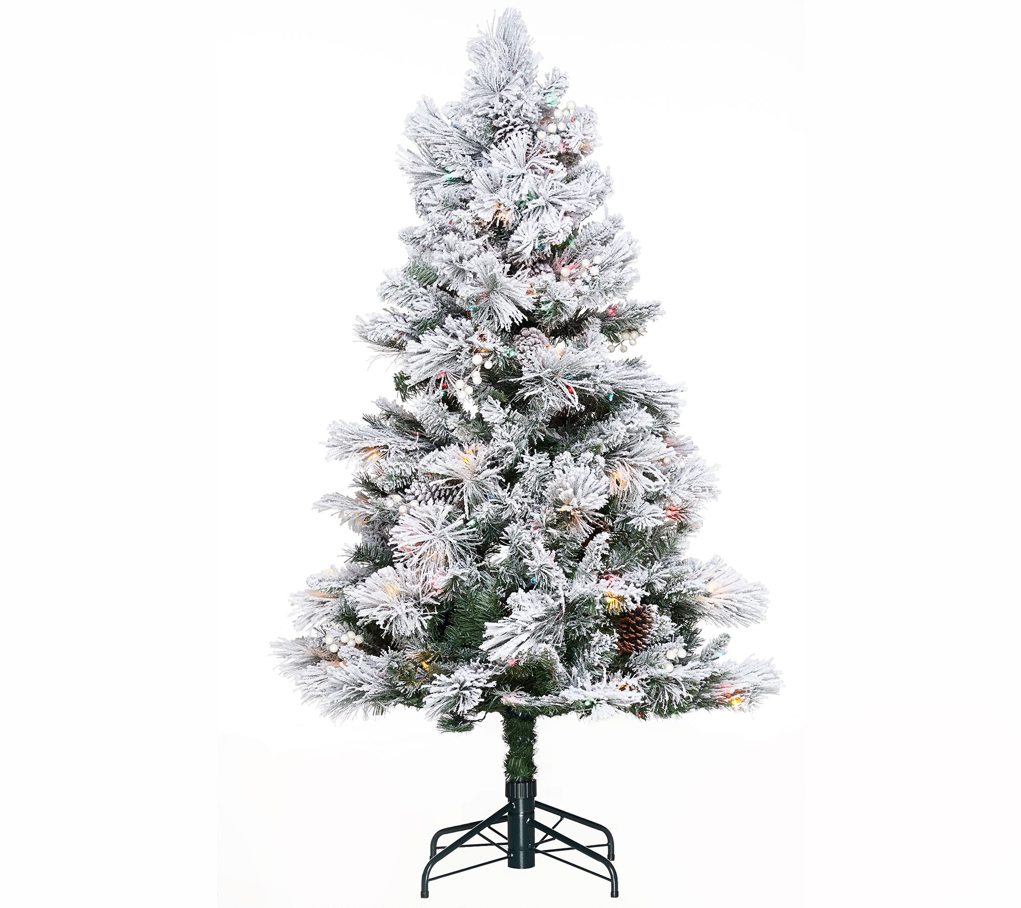 Hallmark 5\' Snowdrift Spruce Tree with Quick Set Technology - Page 1 ...