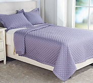 Northern Nights 400TC Super Soft Cotton KG Diamond Stitch Coverlet - H211715