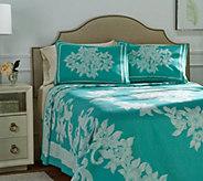 Alexandra 100Cotton Jacquard Woven Queen Bedspread - H212715