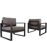 Real Flame Baltic Outdoor Chair - Set of 2 - H301715