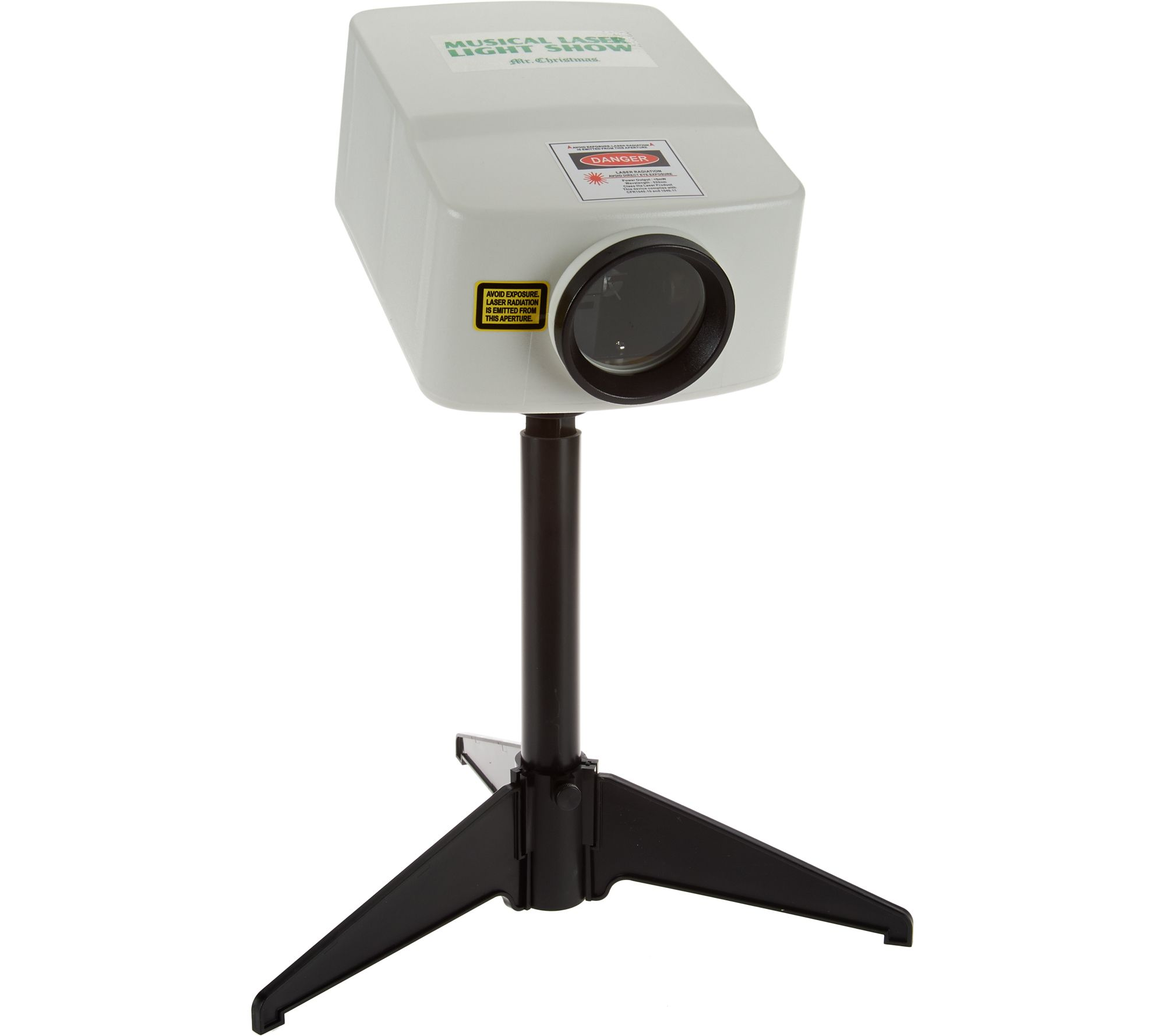 Mr Christmas Projector.As Is Mr Christmas Laser Light And Sound Animated Show Projector Qvc Com