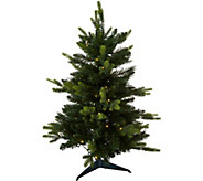 As Is Bethlehem Lights Prelit 34 Green Stake Tree - H215016