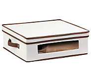 Honey-Can-Do Natural Canvas Large Window Storage Box - H367416