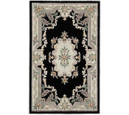Rugs America New Aubusson 4 x 6 Wool Rug - H140017