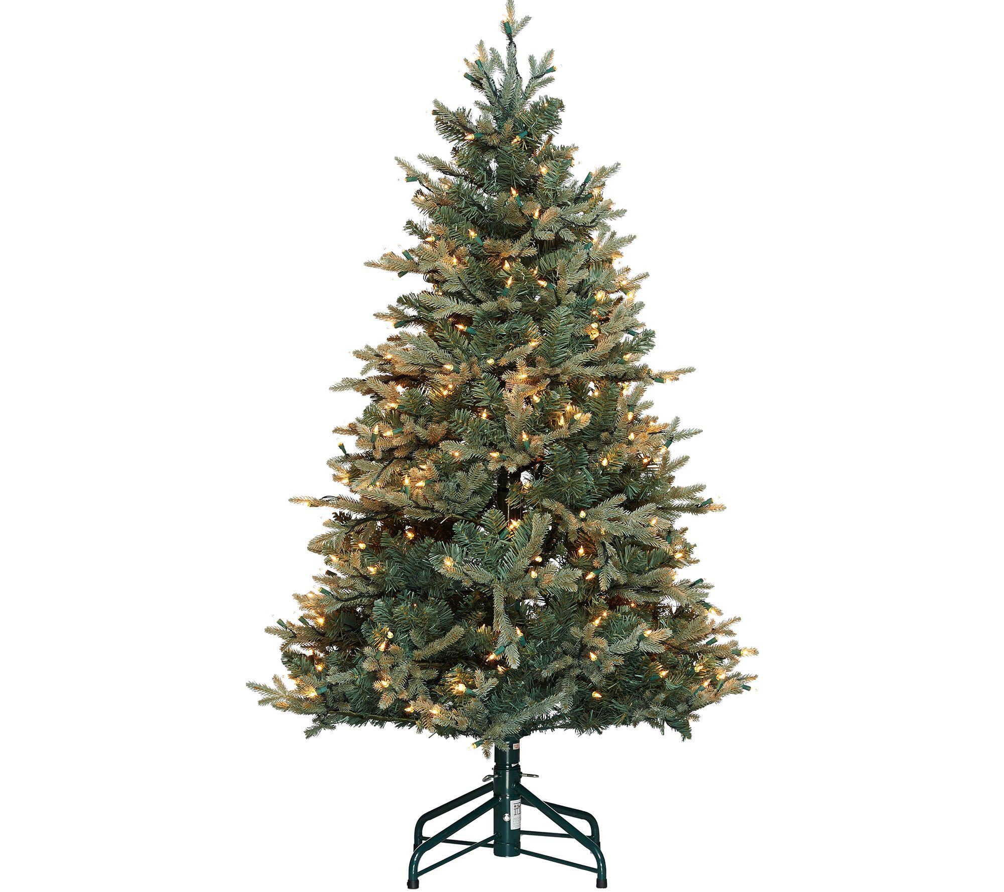 27e1258dc7 Bethlehem Lights 5  Blue Spruce Christmas Tree - Page 1 — QVC.com