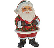Jim Shore Heartwood Creek Pint Size Jolly Santa Figurine - H212517