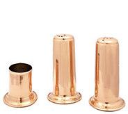 Old Dutch International Solid Copper Salt & Pepper Set - H288117