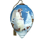 5.50 Winters Woodland Angel Ornament by NeQwa - H294217