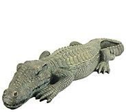 Design Toscano Swamp Beast Crocodile Statue - H296117