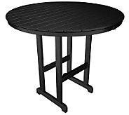 POLYWOOD Traditional Round 48 Bar Table - H349917