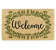 Design Imports Greenery Welcome Doormat - H373317