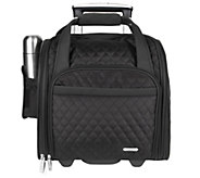 Travelon Wheeled Underseat Carry-On Bag with Back-Up Bag - H177218