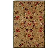Anatolia 6x9 Beige Handtufted Oriental Wool Rug - H183618