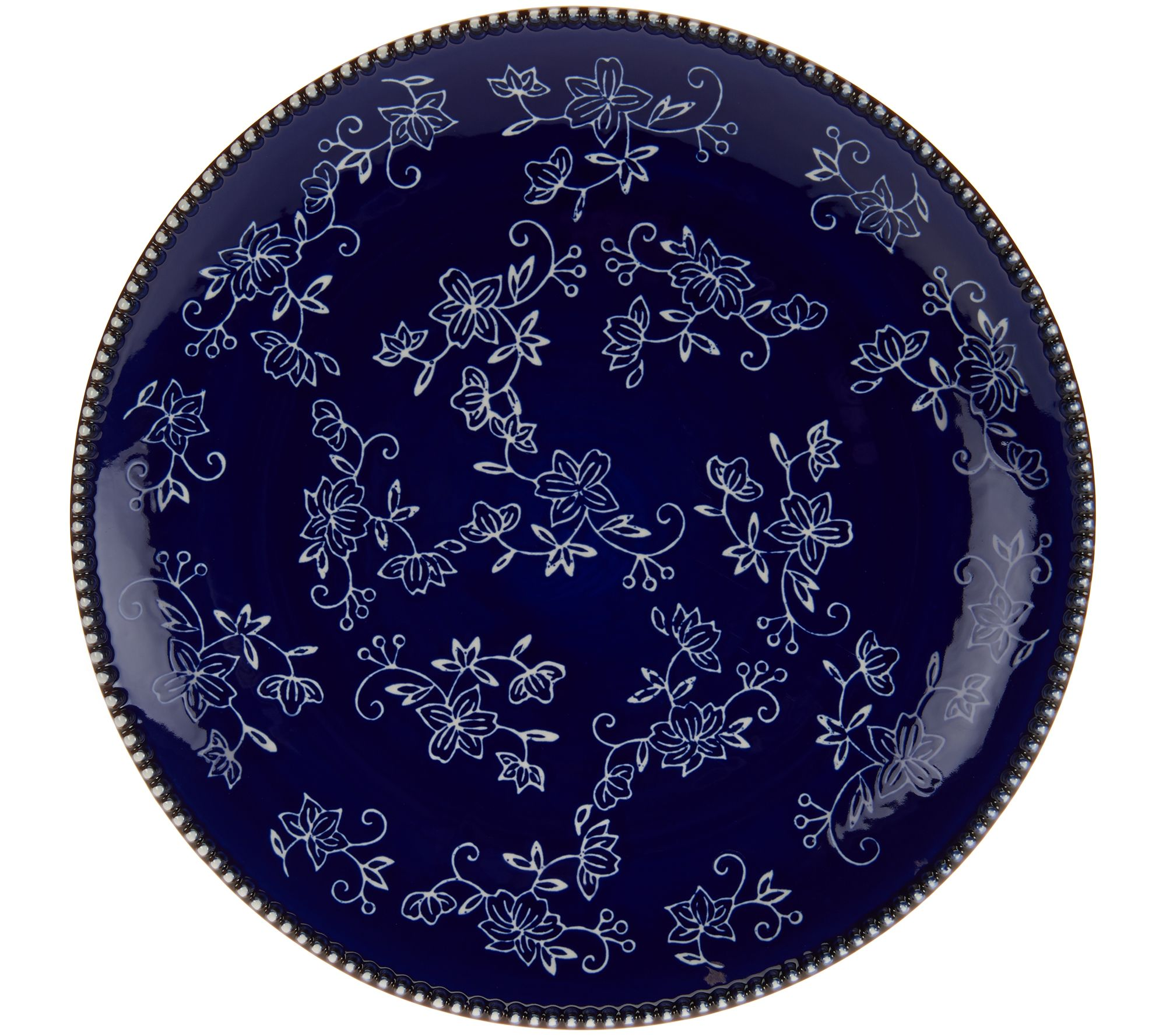 Temptations 24-piece Floral Lace Service for 4 Dinnerware Set - Page ...