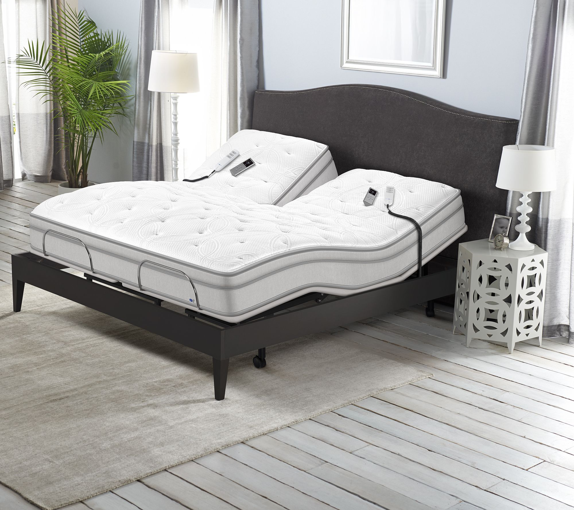 Sleep Number P5 Flex Top King Adjustable Base Mattress Set Qvc Com