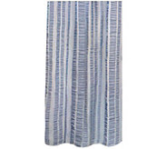 Seersucker Banded Columns 72 x 72 Shower Curtain - H290818