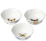 Lenox Butterfly Meadows Set of 3 Prep Bowls - H291618