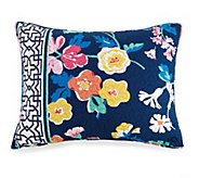 Vera Bradley Maybe Navy King Sham - H327918
