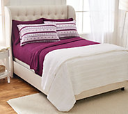 Malden Mills Polarfleece QN Sheet Set w/ Extra Fairisle Pillowcases - H216819
