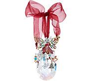 Kirks Folly Christmas Magic Fairy Crystal Ornament - H216919