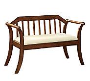 Derby Oak Finish Bench - H359519