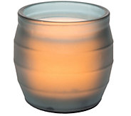 Candle Impressions 4 x 4 Flameless Candle inGlass Jar - H291620