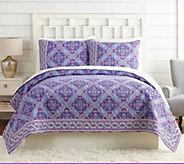 Vera Bradley Purple Passion Full/Queen Quilt - H327820