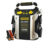 Stanley 500 AMP/1000 PEAK AMP Battery Jump Starter w/ Outlet - H284021