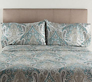 100Cotton Crystal Palace Queen Sheet Set - H287321