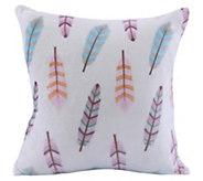 Berkshire Blanket VelvetLoft Cream Feathers Pillow - H296721