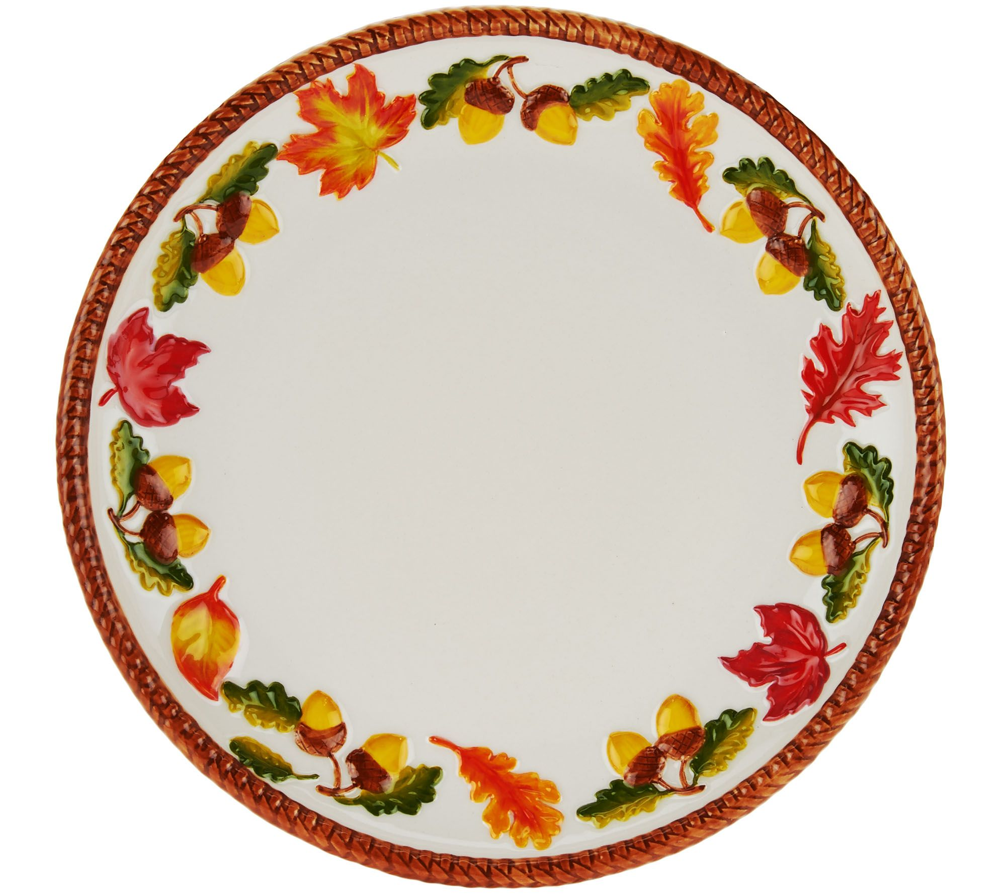 sc 1 st  QVC.com & Temp-tations Pumpkin or Harvest 16pc Dinnerware Set - Page 1 \u2014 QVC.com
