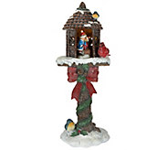Kringle Express 20 Illuminated Holiday Glittered Treehouse - H208822