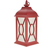 17 Illuminated Indoor/Outdoor Vintage Mercury Glass Lantern by Valerie - H215622
