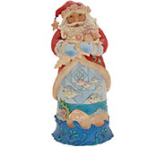 Jim Shore Heartwood Creek Santa with Seashells - H216522