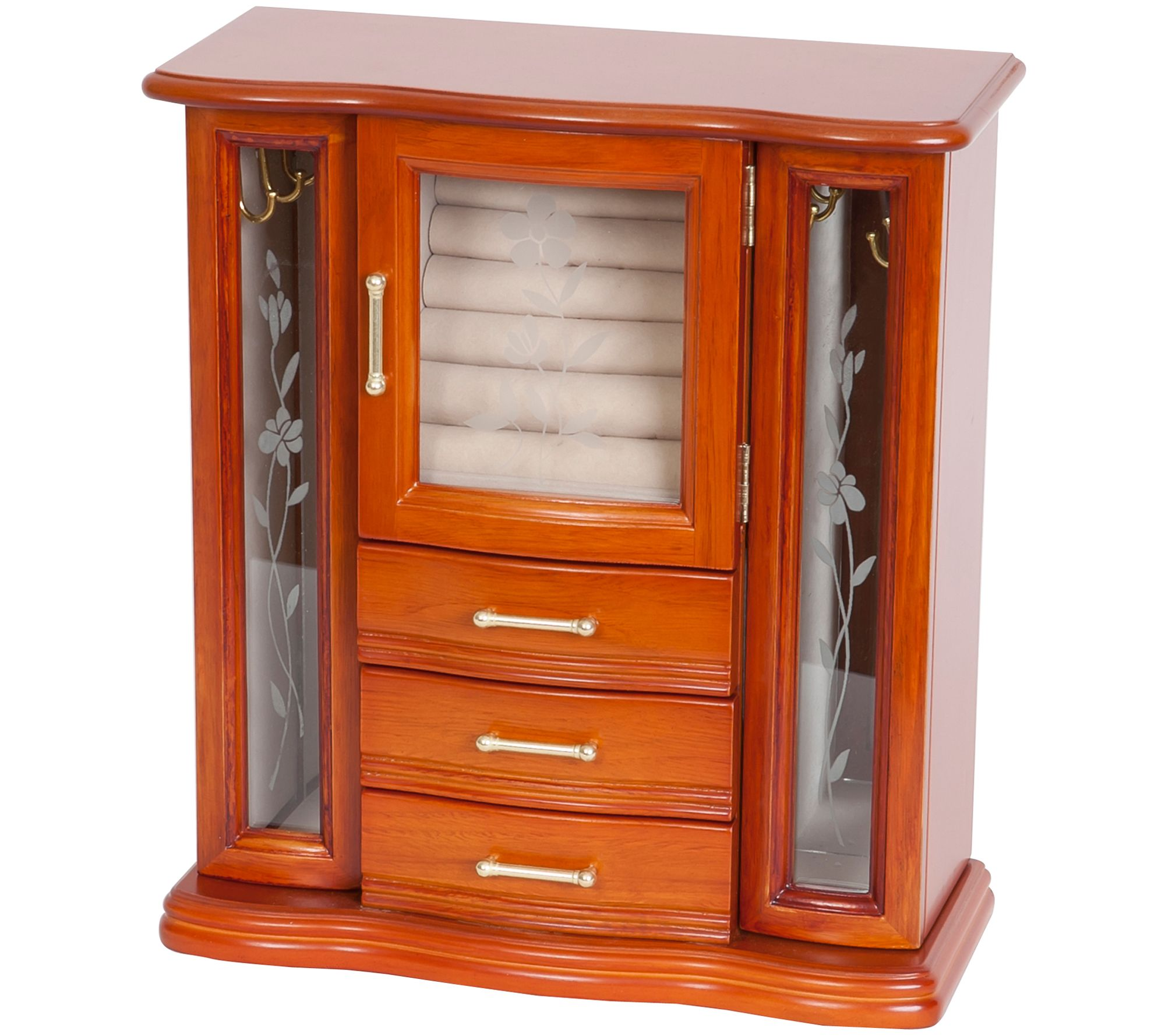 Mele Amp Co Richmond Wooden Jewelry Box Page 1 Qvc Com