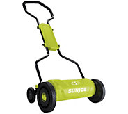 Sun Joe 18 Quad-Wheel 5-Position Push Reel Mower - H300822