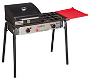 Camp Chef Big Gas Grill 2-Burner Stove with Grill Box - H314022