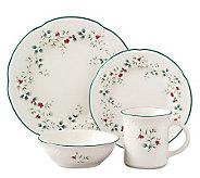 Pfaltzgraff Winterberry 16pc Dinnerware Set - H184423